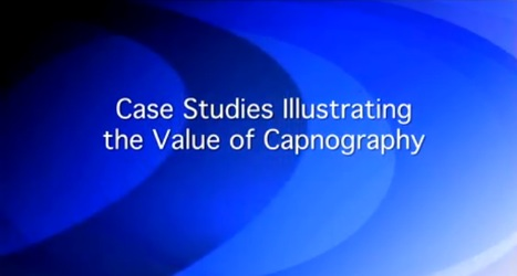 Please click on the picture to view Dr Langhan discussing patient cases where capnography improved safety
