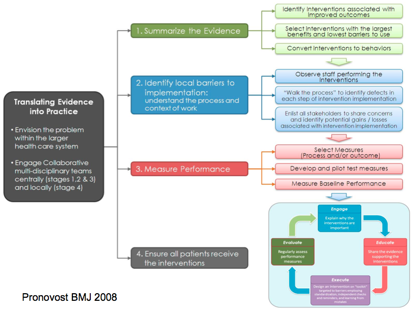 johns hopkins nursing evidencebased practice implementation and translation