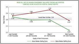 Nurses' Satisfaction and Patient Falls