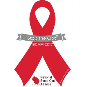 Blood Clot Awareness Month logo