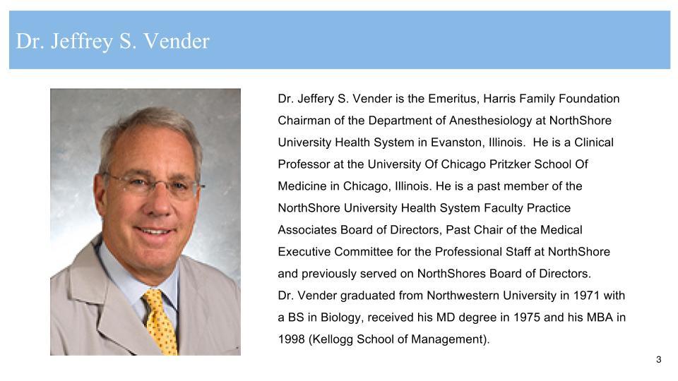 Jeffrey Vender, MD
