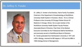 "Jeffrey S. Vender, MD - ""Is Respiratory Compromise The New 'Sepsis'?"