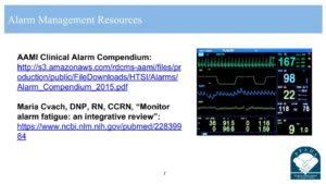 Alarm Fatigue Resources