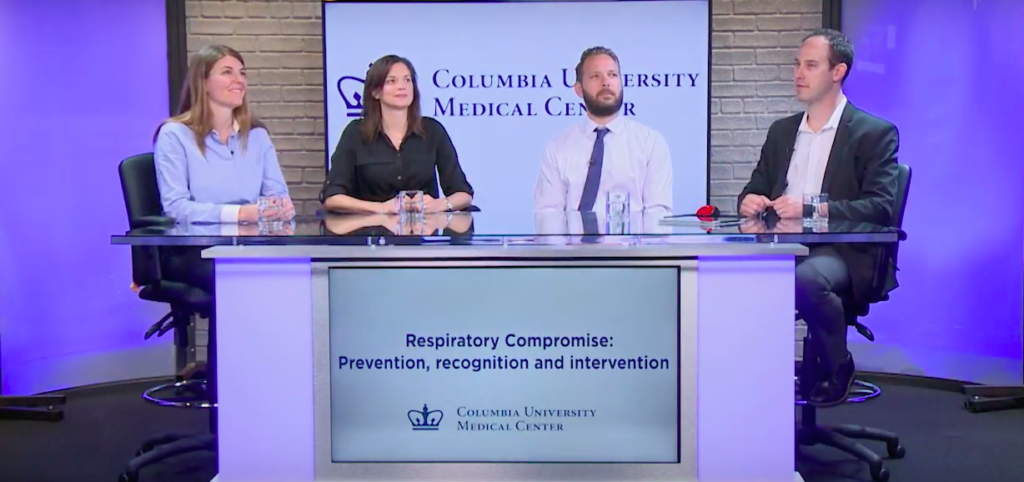 Columbia University Medical Center Webinar on Respiratory Compromise Prevention, Recognition and Intervention