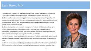Dr. Leah Baron