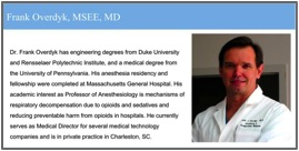 Frank Overdyk, MSEE, MD